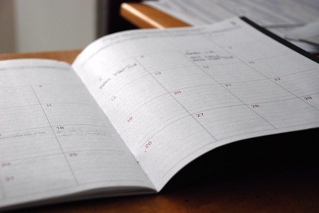 Organising your learning - using an agenda